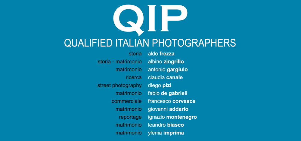 QIP Qualified Italian Photographers – Prima Sessione 2016