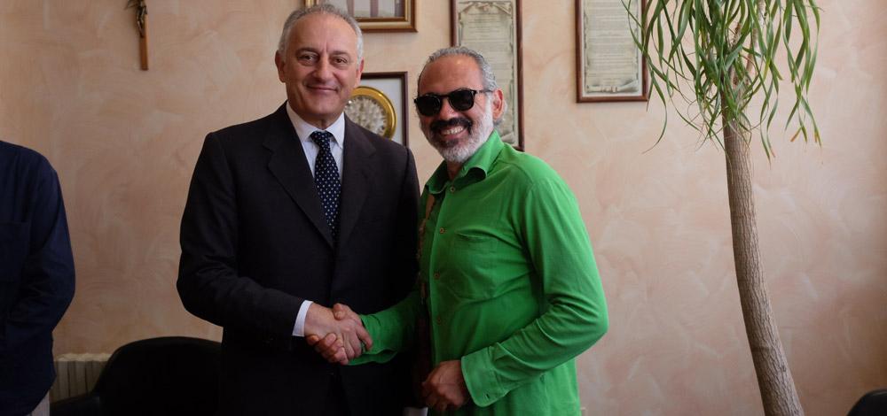 Il FIOF incontra il neo Ambasciatore italiano per il Brasile dott. Antonio Bernardini.Progetti Futuri