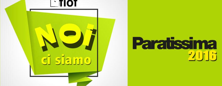 FIOF partner di Paratissima 12/2016