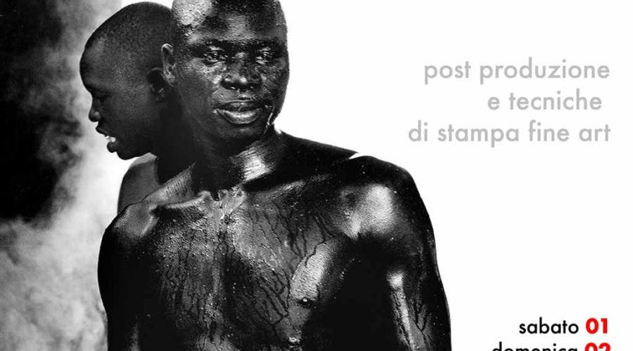 Workshop sulla post produzione e tecniche di stampa Fine Art con Antonio Manta.