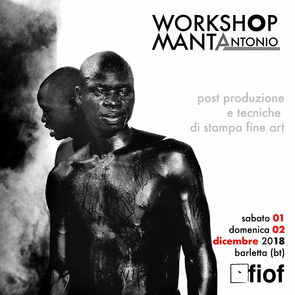 workshop Antonio Manta | 01-02 Dic. 2018