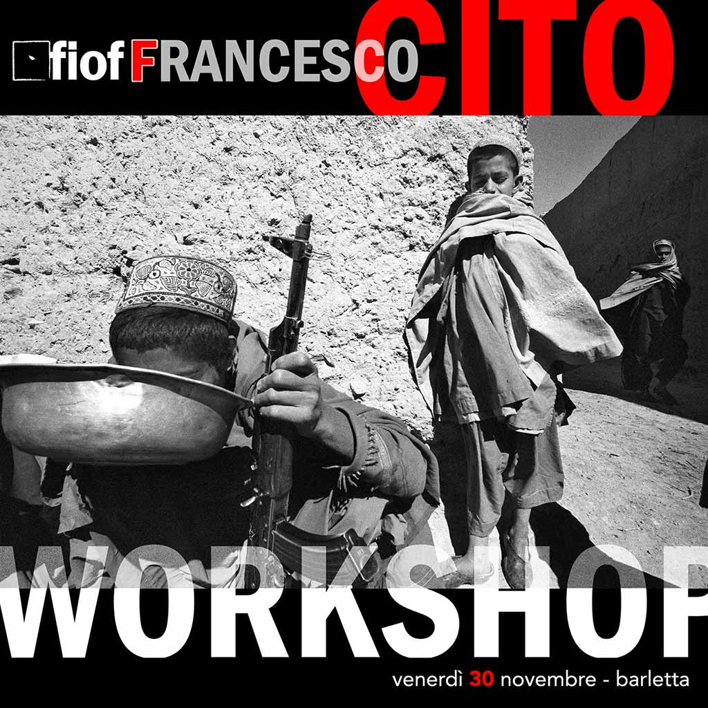 workshop Francesco Cito | 30 Nov. 2018