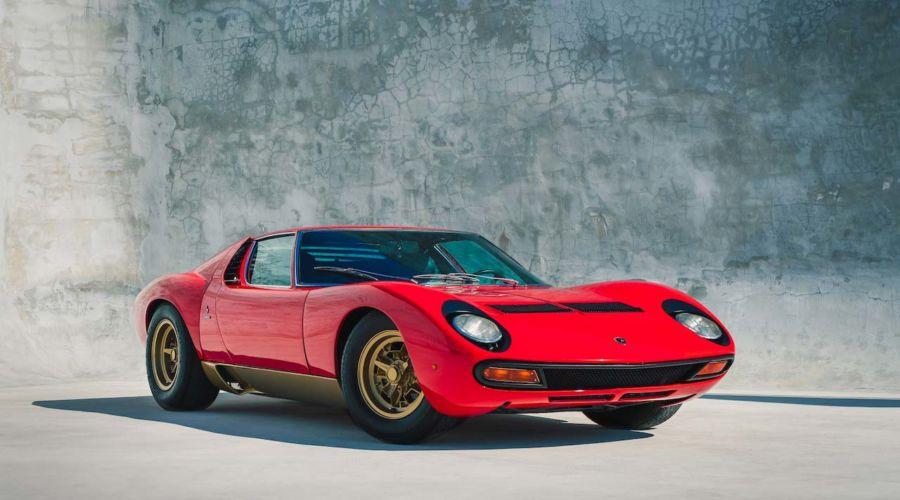 Il progetto di Fabian Oefner per la Lamborghini Miura.