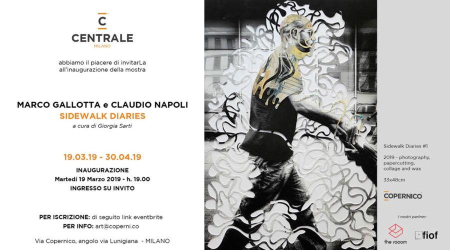 SIDEWALK DIARIES, mostra di Marco Gallotta e Claudio Napoli a cura di Giorgia Sarti.