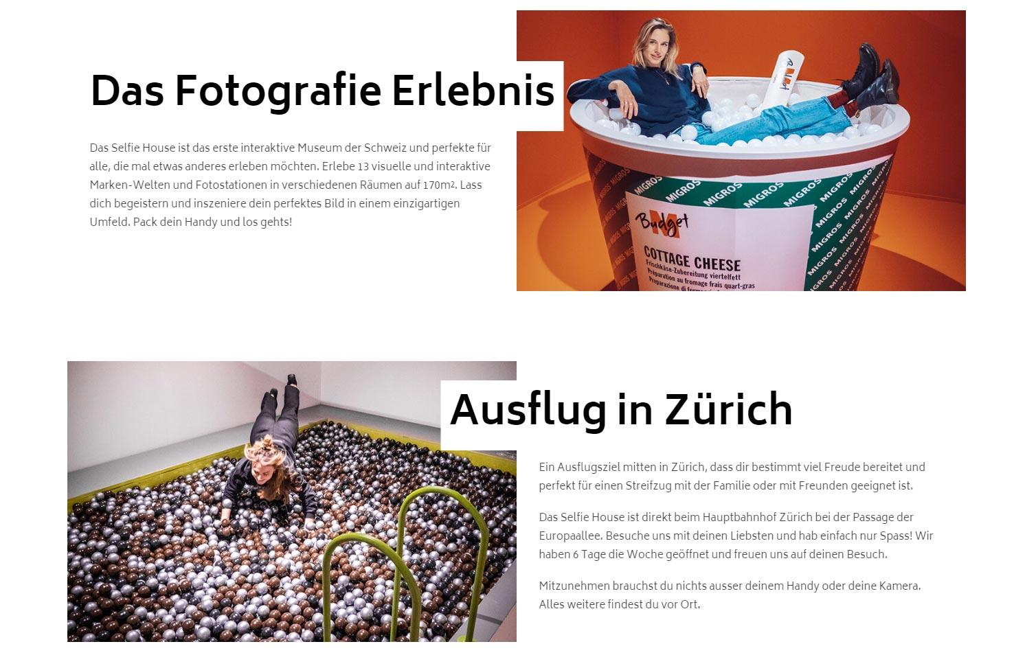 Selfie House, il primo museo per i selfie a Zurigo