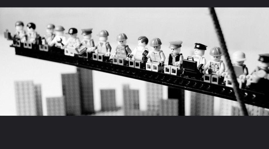 LEGO e la storia della fotografia – Progetto fotografico di Mike Stimpson