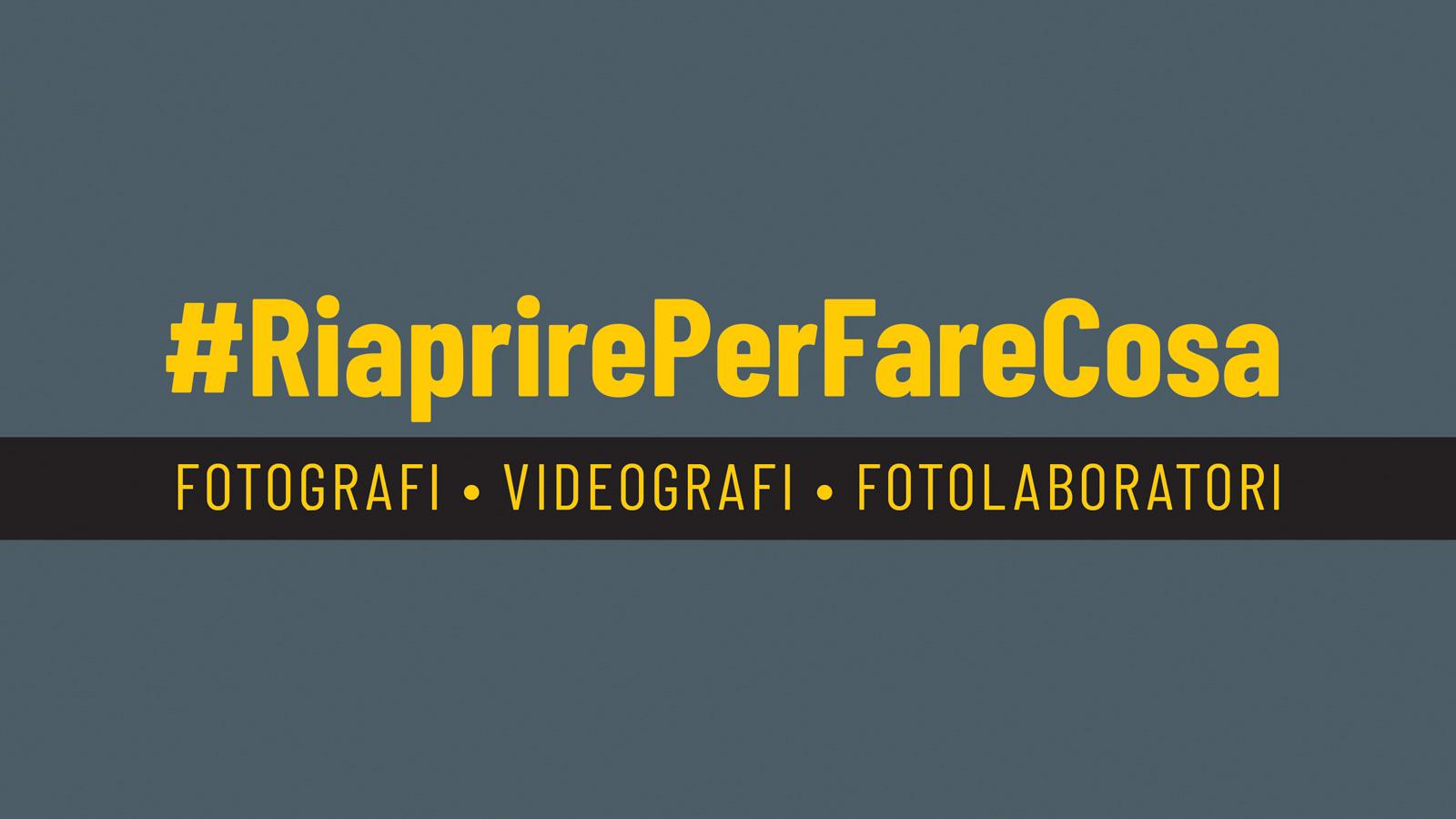 Campagna #RiaprirePerFareCosa
