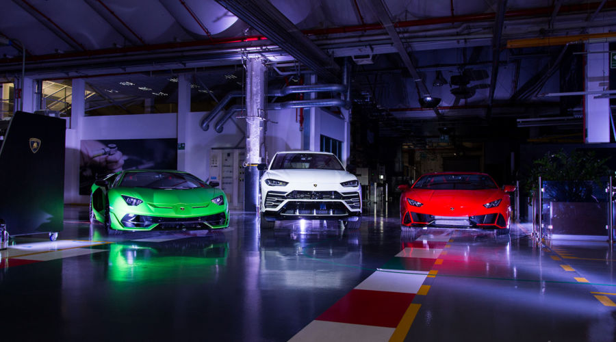 Progetto Lamborghini With Italy, For Italy