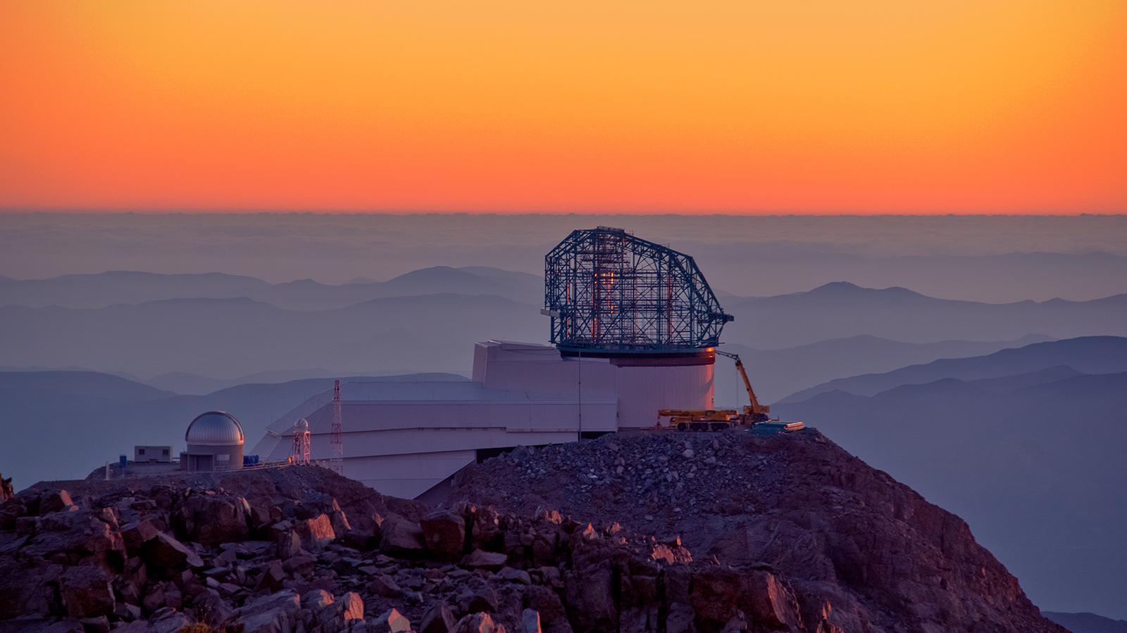 Vera C Rubin Observatory Cile