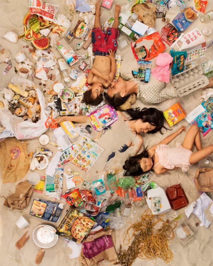7 Days of Garbage | Gregg Segal